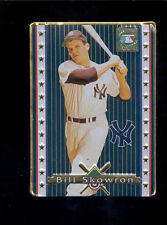 1993 Metallic Images BILL SKOWRON New York Yankees Rare Metal Cooperstown Card