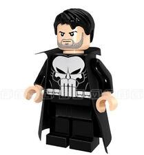 Punisher Minifigura Marvel Frank Castle Mini Figuras De personalizado de TV se ajusta Lego