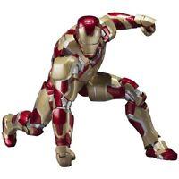 SH S.H. Figuarts Iron Man Mark 42 XLII MK-42 Iron Man 3 Figure Bandai Japan NEW