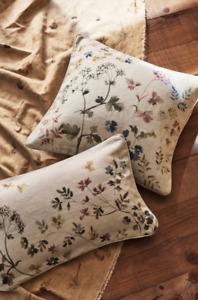 ❣️ Zara Home Floral Print 100% Linen Cushion Cover 30x50cm BNWT ❣️