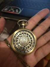 Anime  Cosplay seven balls Hollow Out Stainless Steel Pocket Watch