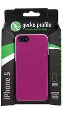 Gecko Gear Profile Slimline Hard Case iPhone 5 Purple RRP $19.95 + Bonus
