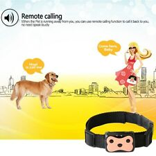 Pet ID Real Locator Time GPS Tracker GSM Waterproof Tracking Tiny Dog Cat Collar