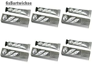 6 er Set Bartwichse Brother´s Love  clear a 10ml = 60ml