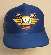 NAPA 500 Racing Snapback Trucker Foam Back Embroidered Patch Hat Ball Cap