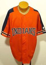 vintage men's CLEVELAND INDIANS sewn jersey STARTER size 2XL