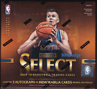 2015-16 PANINI SELECT NBA BASKETBALL HOBBY FACTORY SEALED BOX: 3 AUTO/SWATCH PER