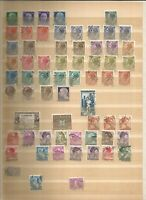 Italia Old Stamps Briefmarken Sellos