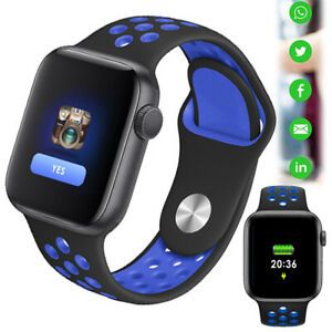 Smart Watch Fitness Tracker for iOS Samsung A10e S20 S10 S8 S9 J6 2018 S7 Edge