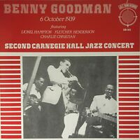 BENNY GOODMAN Carnegie Hall 6 Oct 1939 (Vinyl LP)