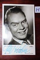 Postkarte Ansichtskarte Schauspieler  Autogramm Hans Richter