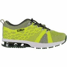 CMP Trainers Sport Shoes Kids Knit Fitness Light Green Breathable Lightweight