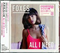 FOXES-ALL I NEED-JAPAN CD E78