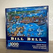 """Bill Bell """"Lobster House"""" 1000 Piece  Jigsaw Puzzle 2016 Ages 12+ New Sealed"""