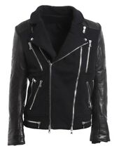 Authentic BALMAIN LEATHER BIKER JACKET Size XL Brand New! and Rare