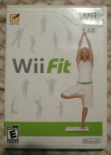 Nintendo Wii Wii Fit (Manual, box and game)