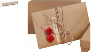 Vintage Letter Writing Set~Writing Paper/Envelopes/Flowers/Decal Stickers/Rope