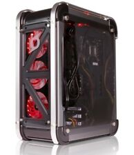 StormForce LUX Mid ATX Gaming PC Case 4x RGB LED Fans Tempered Glass NEW