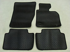 BMW X3 2004-11 Fully Tailored Deluxe RUBBER Car Mats in Black