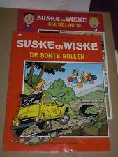 1e druk  Suske en wiske nr 260 :de bonte bollen + bijlage clubblad 2