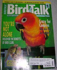 **BIRD TALK MAGAZINE Mar 97 Conure Clubs Princess Of Wales Parakeet Breeding
