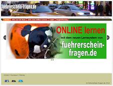 2017/18 Führerschein-Fragen online Lernprogramm Klasse A
