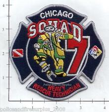 Illinois - Chicago Squad 7 IL Fire Dept Patch - Heavy Rescue Technician