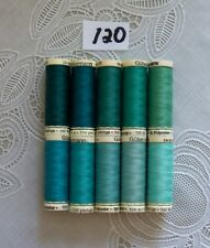 Amann 100/% Polyester Core-Spun Sewing Thread  Sabac 80 1000M Color 1078 Blue