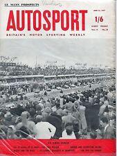 Autosport June 21st 1957 *Le Mans Preview*
