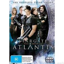 STARGATE ATLANTIS : SEASON 3 : NEW DVD
