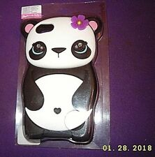 iPodtouch 5/6 Gen Soft Silicone Rubber Case Cover Girl Panda Bear Accessory