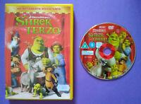 DVD Film Ita Animazione SHREK TERZO dreamworks ex nolo no vhs cd lp mc (T5)