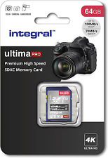 64Gb SD Card 4K Ultra-HD Video Premium High Speed Memory Card SDXC Up To 100MB/S
