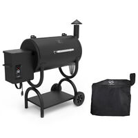 Z Grills Wood Pellet Grill BBQ Smoker Digital Control with Cover ZPG-550B