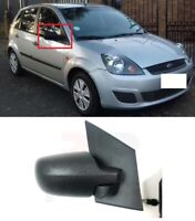 FOR FORD FIESTA 2002-2008 NEW WING MIRROR MANUAL BLACK RIGHT O/S LHD