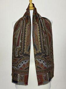 ETRO Wool / Silk Multicolor Scarf