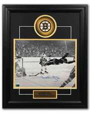 Bobby Orr Boston Bruins Autographed 1970 Stanley Cup Goal 19x23 Frame: GNR COA