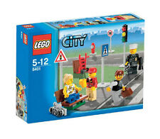 LEGO City Minifiguren und Straßenschilder (8401)