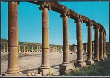 Jordanien Jordan used Post Card Postkarte Bauwerk building Jerash [cm551]