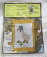 "Baby Crib Quilt Top KIT Mother Goose applique 37"" x 53"" Needle in the Haystack"