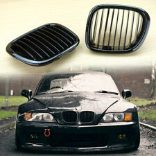 Fit BMW Z3 Front Performance Grille Grill 1996-2002 Gloss Black