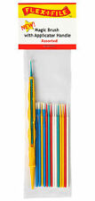 Flex-I-File Magic Brushes With Applicator Handle 15 Brushes Assorted