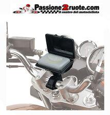supporto telepass universale moto scooter tubolare givi s601 universal tubolar