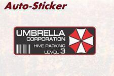 Umbrella Corporation PARKING Adesivi Colorati Adesivi Digital JDM Style Tuning
