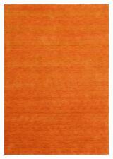 Tapis orange marocains pour la maison