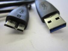 WD My Passport Essential 1TB Hard Drive USB Cable WDBACX0010BBL-01 WDCA042RNN