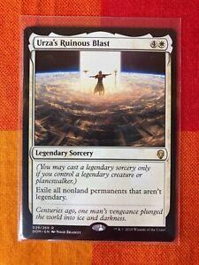 """Urza's Ruinous Blast"" Dominaria MTG, Mint/NM"