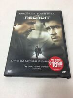 The Recruit (DVD, 2003) - Al Pacino, Colin Farrell