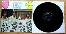 """EX/EX THE BEATLES ALL YOU NEED IS LOVE 12"""" VINYL DISC"""