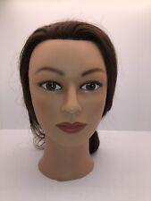 Marianna  Cosmetology Mannequin Head 100% Human Hair